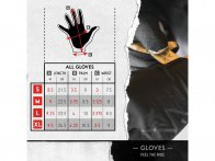 "The Shadow Conspiracy ""Conspire Feather"" Gloves"