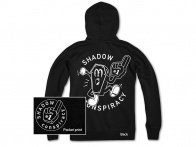 "The Shadow Conspiracy ""Winning"" Hooded Zipper - Black"