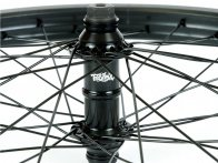 "Total BMX ""Techfire"" Vorderrad - Black/Black"
