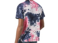 "Vans ""Off The Wall Classic Burst"" T-Shirt - Vans Cool Pink Tie Dye"
