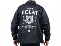 "eclat ""MFG Company"" Windbreaker Jacket - Black"