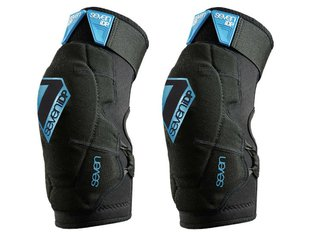 "7 Protection ""Flex"" Adult Knie- / Youth Ellenbogenschoner - Black/Blue"