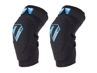 "7 Protection ""Flex"" Knee Pads - Black/Blue"