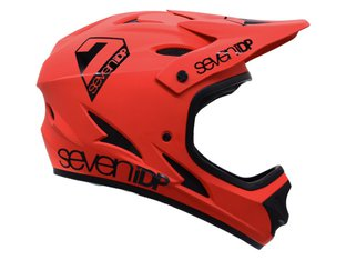 "7 Protection ""M1"" Fullface Helm - Red/Black"