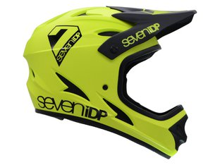 "7 Protection ""M1"" Fullface Helm - Yellow/Black"
