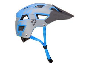 "7 Protection ""M5"" Trail MTB Helm - Grey/Blue"