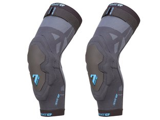 "7 Protection ""Project"" Knee Pads - Grey/Blue"