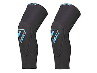 "7 Protection ""Sam Hill Lite"" Elbow Pads - Black/Blue"