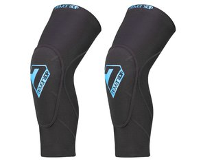 "7 Protection ""Sam Hill Lite"" Knee Pads - Black/Blue"