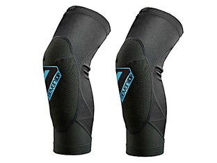 "7 Protection ""Youth Transition"" Knieschoner - Black/Blue"