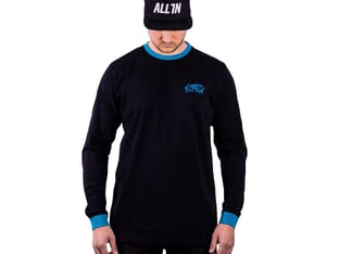 "ALL IN ""Adrenalice"" Longsleeve - Black"