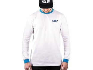 "ALL IN ""Adrenalice"" Longsleeve - White"