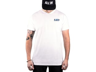 "ALL IN ""Adrenalice"" T-Shirt - White"