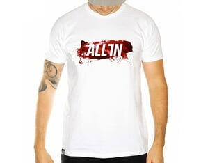 "ALL IN ""Adrenaline"" T-Shirt - White"