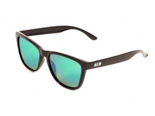 "ALL IN ""Bet"" Sunglasses - Black/Green"