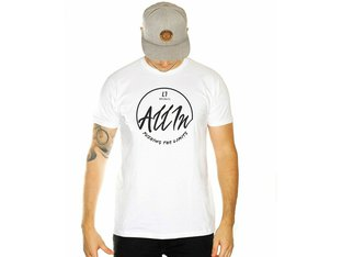 "ALL IN ""Circle"" T-Shirt - White"