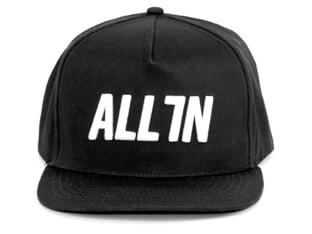 "ALL IN ""Logo Snapback"" Cap"