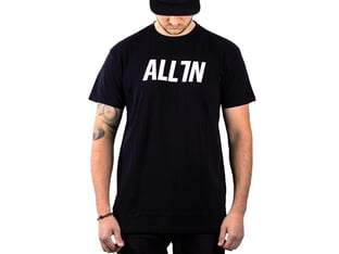 "ALL IN ""Logo"" T-Shirt - Black"