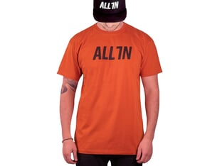 "ALL IN ""Logo"" T-Shirt - Rust"