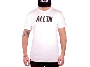 "ALL IN ""Logo"" T-Shirt - White"