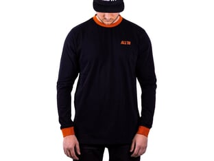 "ALL IN ""Pushing The Limits"" Longsleeve - Black/Rust"