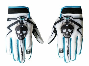 "ALL IN ""Skull Timo Schulze Dealer"" Handschuhe"