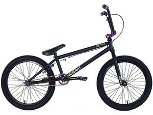 "Academy BMX ""Aspire"" 2018 BMX Bike - Matte Black/Purple"
