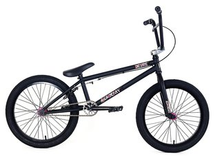 "Academy BMX ""Desire"" 2018 BMX Bike - Black/Hot Pink"