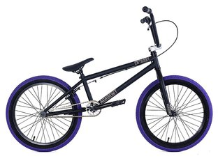 "Academy BMX ""Entrant"" 2018 BMX Bike - Matte Black/Purple"