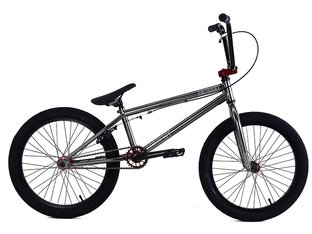 "Academy BMX ""Entrant"" 2018 BMX Rad - Metal Grey/Red"