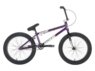 "Academy BMX ""Entrant"" 2021 BMX Bike - Dark Purple / Polished"