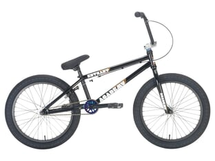 "Academy BMX ""Entrant"" 2021 BMX Bike - Gloss Black / Rainbow"