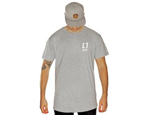 "ALL IN ""Classic Long"" T-Shirt - Heather Grey"