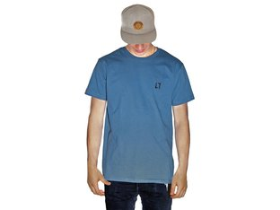 "Allin ""Stitch"" T-Shirt - Stone Blue"