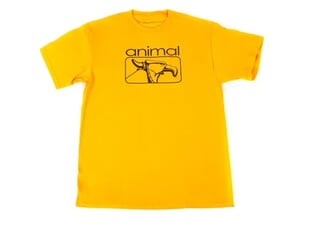 "Animal Bikes ""2000s"" T-Shirt - Gold"