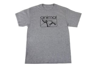 "Animal Bikes ""2000s"" T-Shirt - Grey"