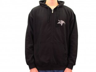 "Animal Bikes ""Cellar Door"" Hooded Zipper - Black"