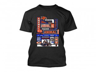 "Animal Bikes ""Mart"" T-Shirt - Black"