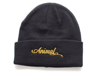 "Animal Bikes ""Tails"" Beanie Mütze - Black"