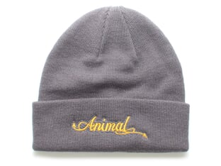 "Animal Bikes ""Tails"" Beanie Mütze - Grey"