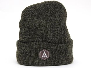 "Autum Bikes ""Leather Patch"" Beanie Mütze"