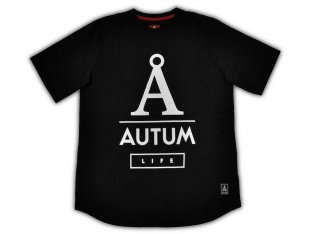 "Autum Bikes ""Life"" T-Shirt - Black"