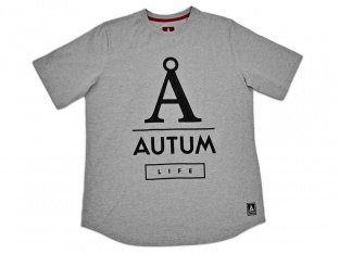 "Autum Bikes ""Life"" T-Shirt - Heather Grey"