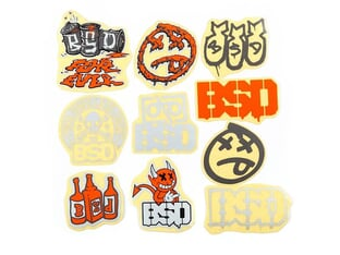 "BSD ""2021"" Stickerset"