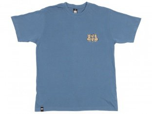 "BSD ""Acid Tag"" T-Shirt - Petrol Blue"