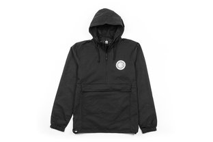 "BSD ""Athletic"" Anorak Jacke - Black"