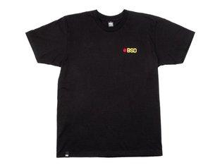 "BSD ""Eject"" T-Shirt - Black"