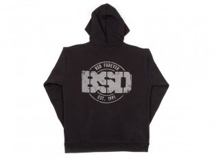 "BSD ""Established"" Hooded Pullover - Black"