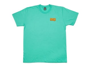"BSD ""Melting Acid Face"" T-Shirt - Mint Green"