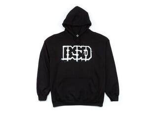 "BSD ""Outline"" Hooded Pullover - Black"